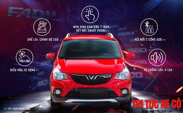 hình ảnh chiếc xe vinfast fadil giá 336 triệu đồng