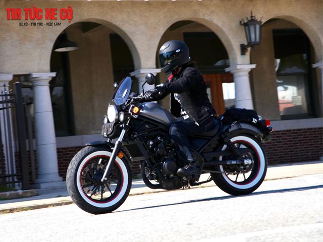 Xe moto Honda Rebel 500
