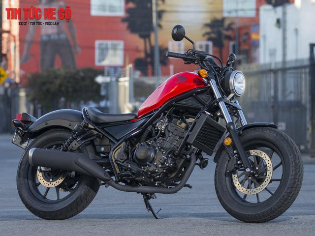 Xe Moto Rebel: Đẹp, mạnh mẽ