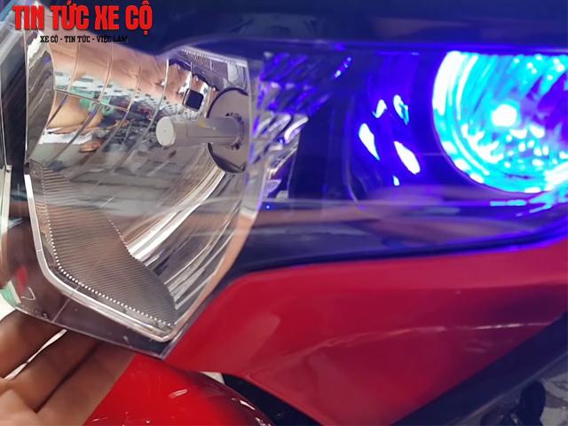 Hệ thống đèn LED xe CBR 250 sang trọng, hiện đại