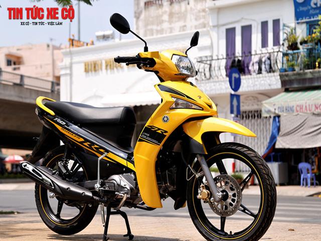 Yamaha Sirius - thiết kế nhẹ với vận hành ở tốc độ cao