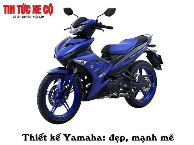 Yamaha - một trong 2 hãng xe máy lớn nhất Việt Nam.