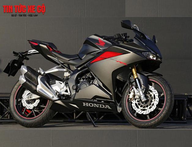 Xe mô tô CBR 250 lần đầu xuất hiện dưới dạng Concept tại triển lãm xe Tokyo năm 2015