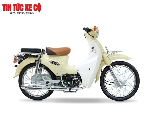 Honda Cub 50cc vẫn giữ được nét truyền thống trong thiết kế