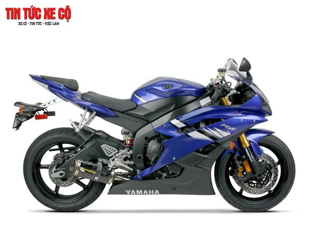 """Yamaha R6-""""Ngựa chiến bất kham"""" được yêu chuộng"""