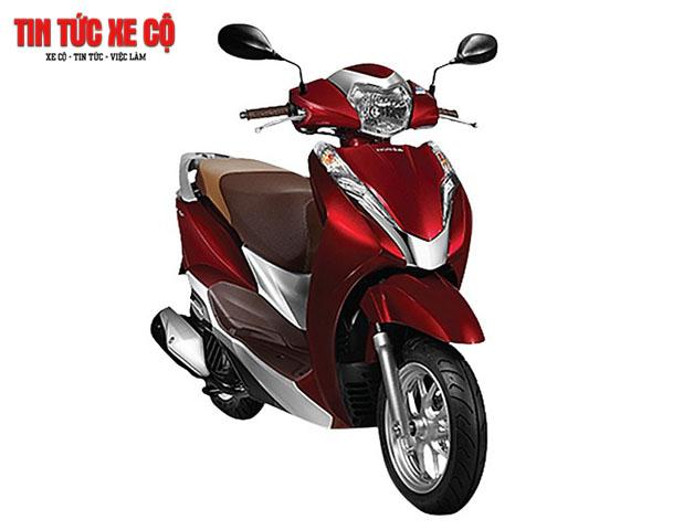 Xe máy Honda Lead 2019 có thiết kế mới chắc chắn, các đường nét tinh xảo bắt mắt, màu sắc đa dạng