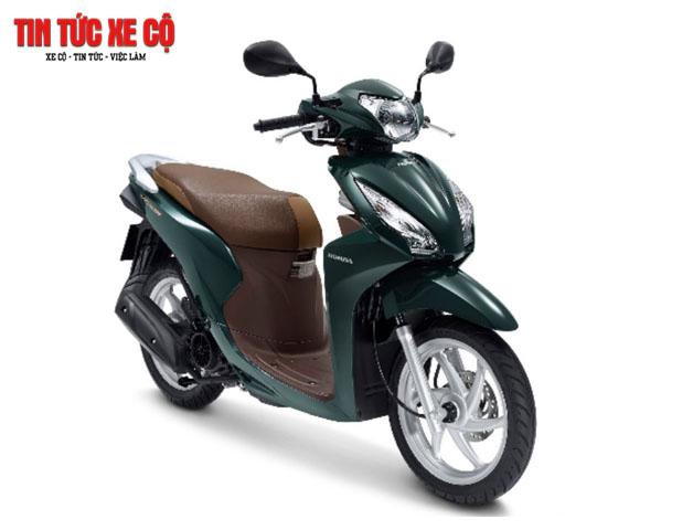 Honda Lead màu xanh lục