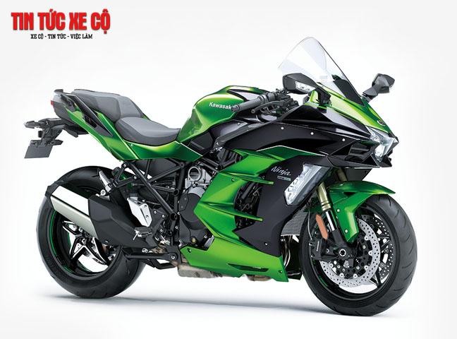 Ninja H2 là chiếc xe đắt nhất trong thị trường xe moto của thương hiệu Nhật Bản tại Việt Nam hiện nay