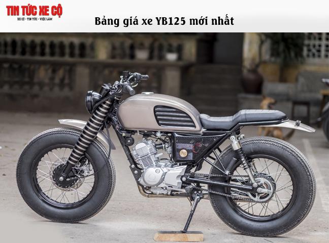 Dòng xe YB125 được đánh giá mẫu xe thực dụng cho khách hàng Việt