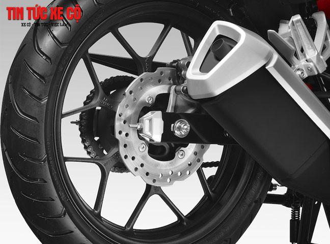 Winner được trang bị hệ thống phanh chống bó cứng ABS cho bánh xe, đem lại sự an toàn cho người sử dụng.