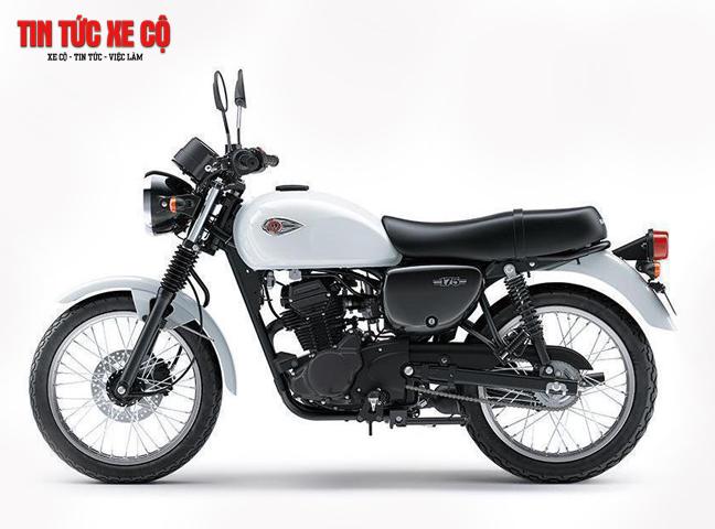 Kawasaki W175 trang bị hệ thống đơn giản