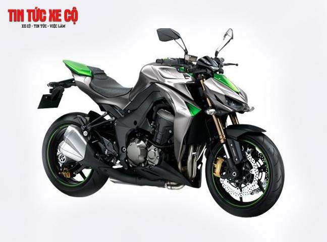 Kawasaki Z1000 mang đậm đẳng cấp thể thao và công nghệ tiên tiến.