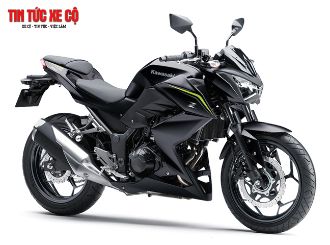 """Kawasaki Z300 - """"Quái vật nhỏ trên đường phố"""""""