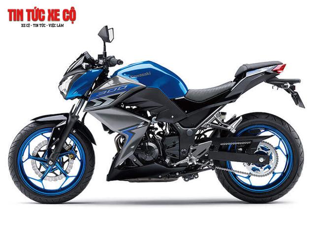 Kawasaki Z300 - đẹp, mượt mà, cá tính
