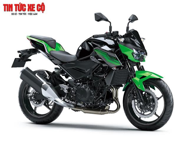 Kawasaki Z400 2019 là đàn em tầm trung của mẫu Nakedbike Z650 của thương hiệu Nhật Bản Kawasaki
