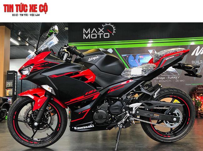 Kawasaki Ninja 250 là dòng xe thể thao tiện ích ở mức trung, được phần lớn khách hàng lựa chọn