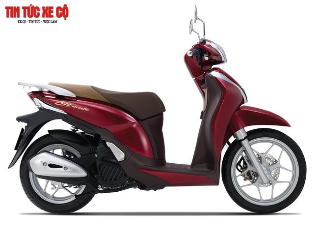 Thông số kỹ thuật Honda SH Mode