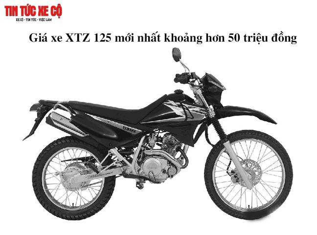 Yamaha XTZ 125 có thiết kế yên xe nhỏ gọn, êm ái