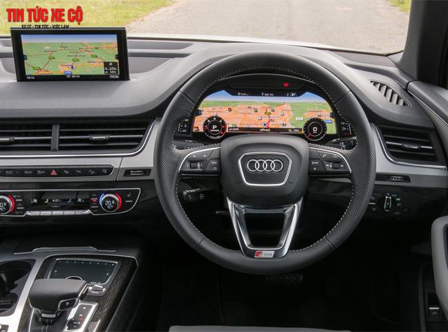 Audi Q7 được đánh giá cao về nội và ngoại thất