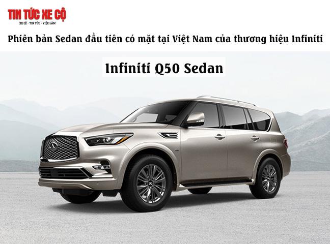 Giá xe Infiniti Q50 Sedan mới nhất