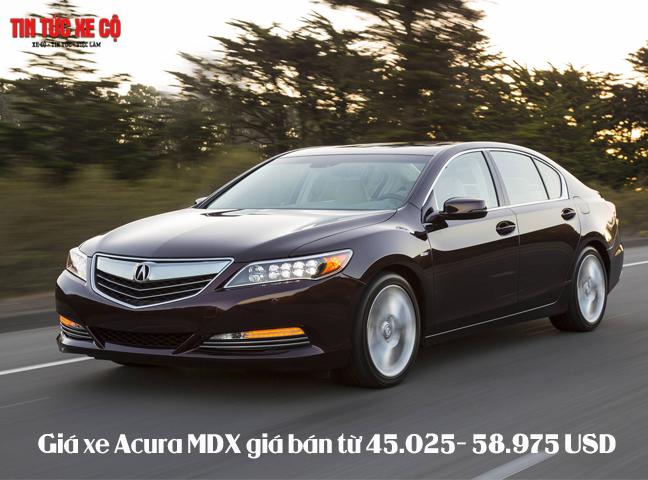 Giá xe Acura MDX mới nhất