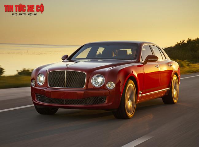 Giá xe Bentley Mulsanne Speed