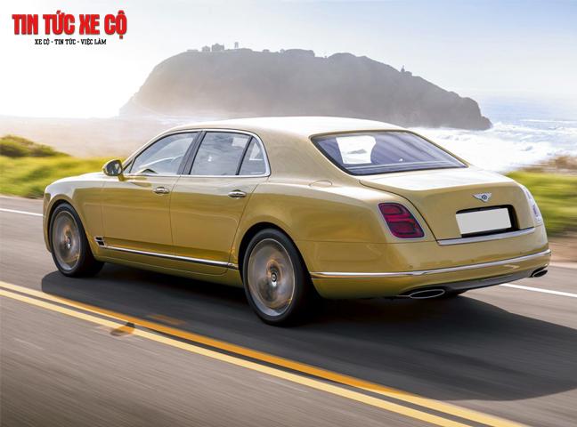 Giá xe Bentley Mulsanne