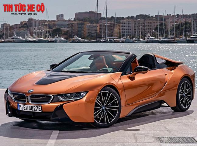 I8 là mẫu siêu xe thể thao của hãng xe nổi tiếng BMW