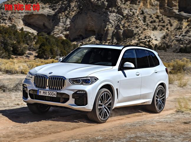 Thiết kế ngoại thất của xe BMW X5 có nhiều điểm mới