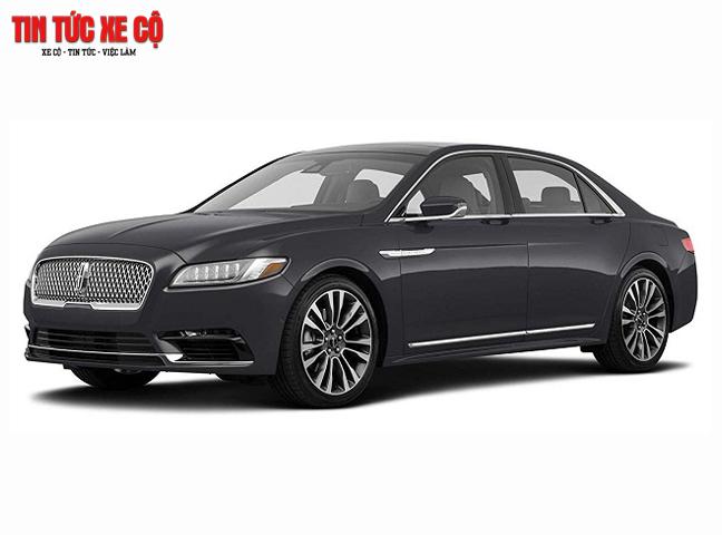 Lincoln Continental là một chiếc xe Sedan mang vẻ đẹp rất nổi bật, tinh tế