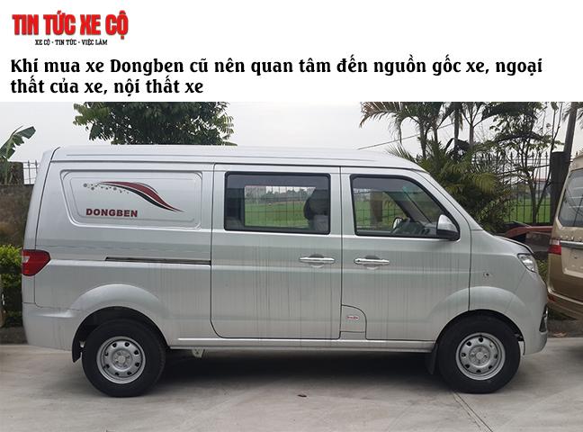Những lưu ý khi mua xe Dongben cũ