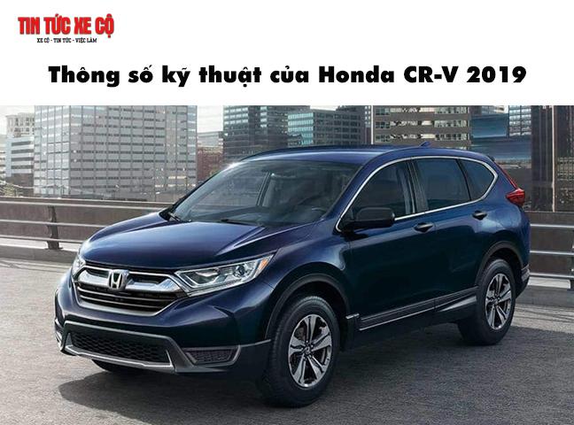 Thông số kỹ thuật xe CR-V