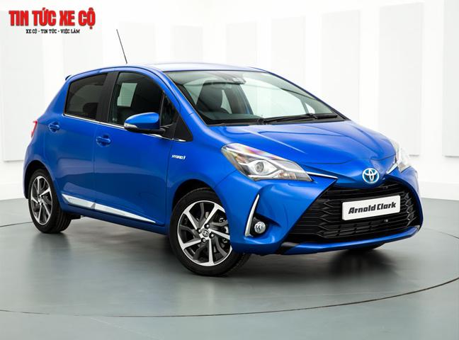 Toyota Yaris tái xuất với nhiều tính năng vượt trội
