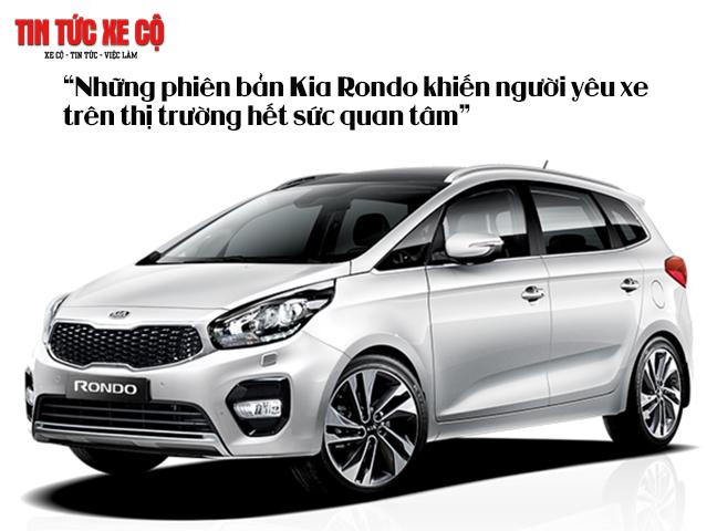 Kia Rondo có 4 phiên bản