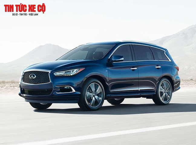 Giá xe QX60 mới nhất là 3.099.000.000 VNĐ