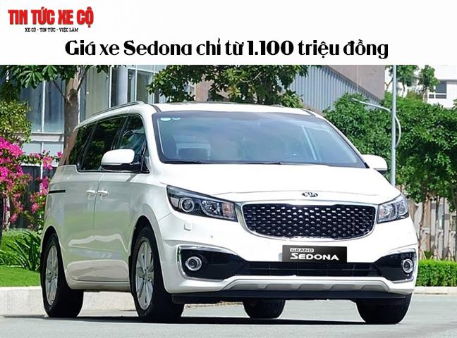 Giá xe Sodona chỉ từ 1100 triệu đồng