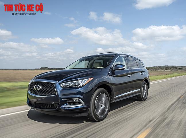 QX60 2019 Limited là mẫu SUV hạng sang đình đám tại hơn 50 quốc gia trên toàn cầu