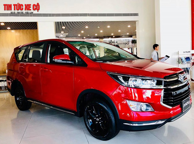 Innova sẽ trở thành đối thủ Hyundai SantaFe, Honda CR-V, Kia Rondo