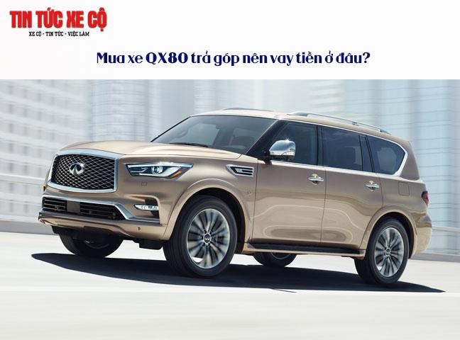 Mua xe QX80 trả góp nên vay tiền ở đâu?