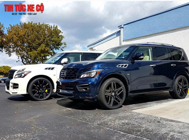 QX80 2019 Limited là mẫu SUV hạng sang đình đám tại hơn 50 quốc gia trên toàn cầu
