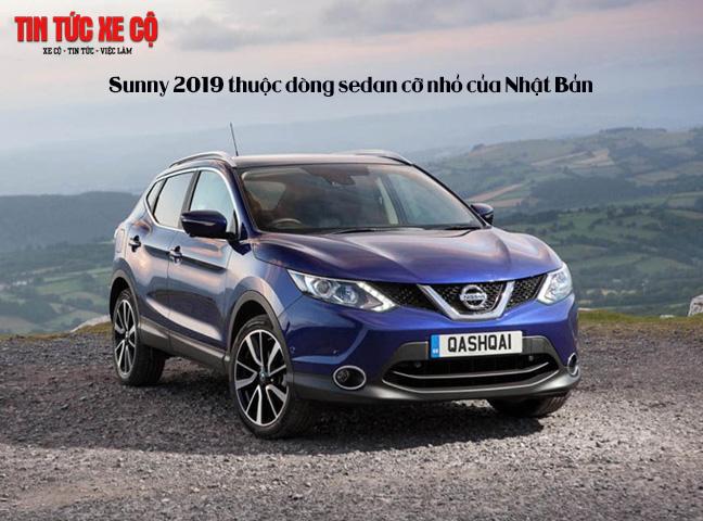 Sunny 2019 thuộc dòng sedan cỡ nhỏ của Nhật Bản