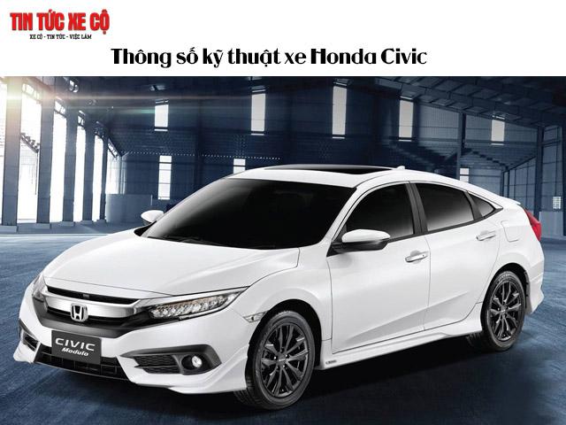 Thông số kỹ thuật xe Honda Civic