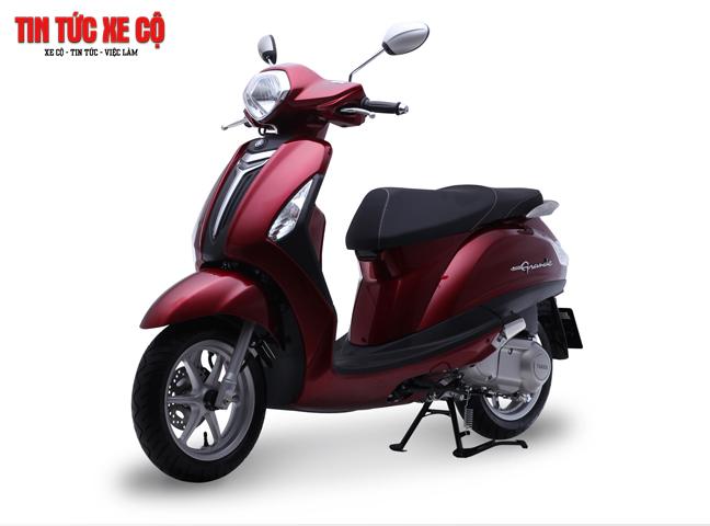 Yamaha Grande có thiết kế đẹp mắt, thân thiện với môi trường
