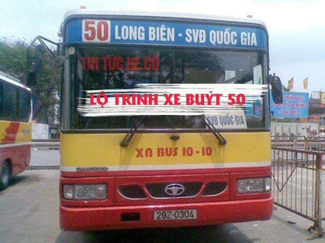 xe buýt 50 hà nội