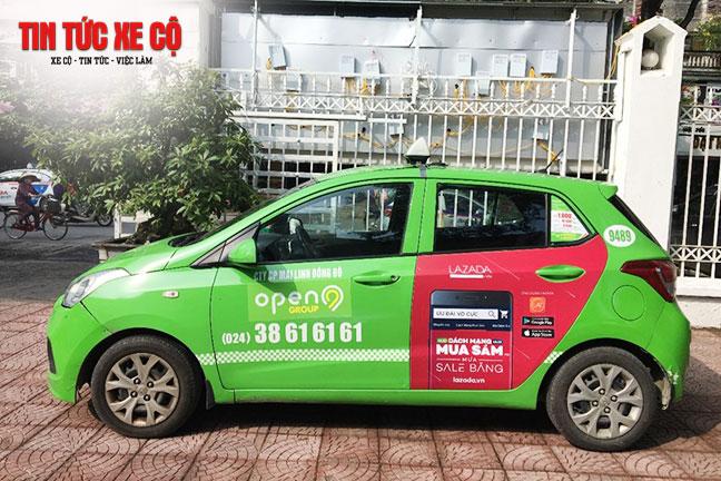 Đặt xe Open99 đơn giản qua hotline hoặc app taxi