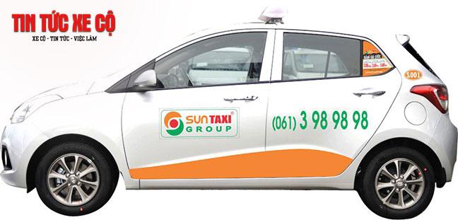 Dịch vụ Taxi Suntaxi với 17 chi nhánh toàn quốc