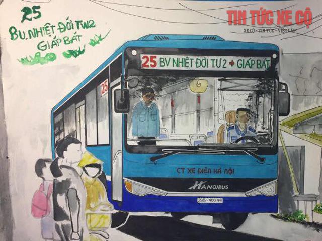 Lộ trình xe bus 25 hà nội