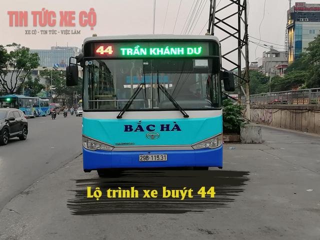 Lộ trình xe buýt 44 hà nội