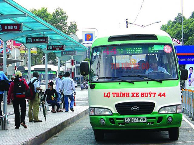 lộ trình xe buýt 44 tphcm