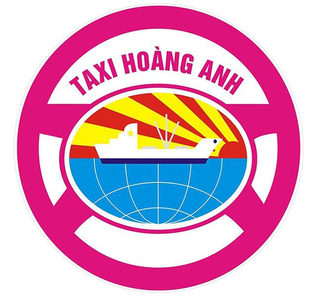Logo Taxi Hoàng Anh
